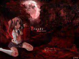 halloween anime background bloody anime wallpaper wallpapersafari
