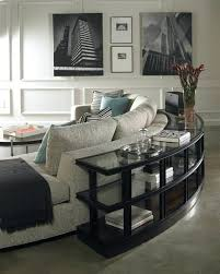 bookcase love the round sofa table from vanguard furniture