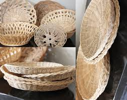 Home Decor Bowls Fit Crafty Stylish And Happy Simple Home Decor Out Of Wicker
