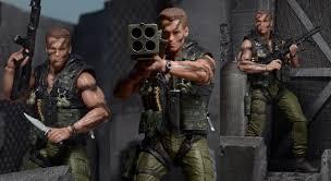neca commando and ultimate t2 figures terminator genisys license