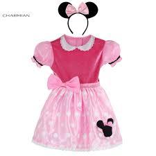 charmian girls minnie mouse dress costume baby kids princess
