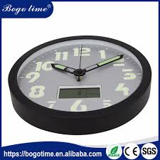Garden Wall Clocks by Led Wall Clock Led Wall Clock Suppliers And Manufacturers At