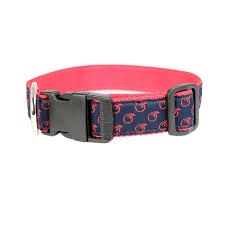 patterned ribbon patterned ribbon dog collar empire south
