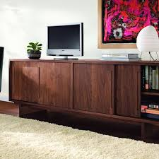 Modern Media Storage Furniture by Hand Crafted Anders Media Consoles By Vermont Furniture Designs
