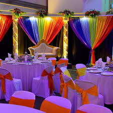 japanese wedding backdrop aliexpress buy multi color backdrop colorful rainbow wedding
