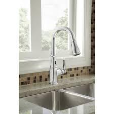 moen chrome kitchen faucet bathroom moen brantford faucet for your kitchen and bathroom