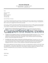 Sample Cover Letter Layout Sample Cover Letter For Leadership Position Image Collections
