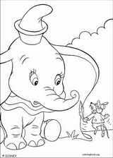 dumbo coloring pages coloringbook org