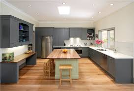 u shaped kitchens with islands breathtaking modern u shaped kitchen with island and rectangle