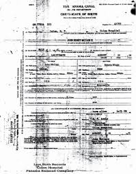 Certification Letter Of Expected Discharge Or Release From Active Duty Exle John Mccain Citizen Of Panama At Birth Natural Born Citizen