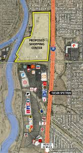 Map Of Tucson Tucson To Get Major New Shopping Center News About Tucson And