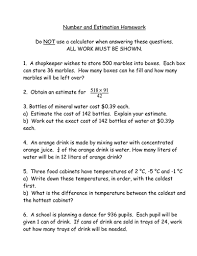 maths ks3 worksheet u2013 estimation and rounding by mrbuckton4maths