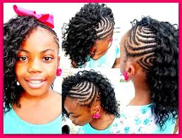 crochet black weave hair crochet braids side mohawk slow motion youtube