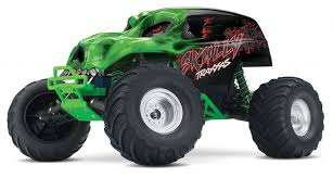 traxxas skully monster truck mostrusoso fun buy