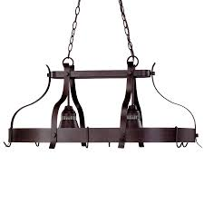 oil rubbed bronze pot rack with lights kitchen island lighting led kitchen lighting lowe s canada