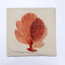 aliexpress com buy 45cm 45cm ocean animal plant cushion cover