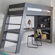 Bed Desks For Laptops Ultra Stylish And Contemporary The Julien Loft Bed With Desk