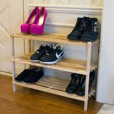 Shoe Rack by Wayfair Basics Wayfair Basics Expandable 3 Tier 21 Pair Shoe Rack