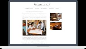 Kitchen Website Design Website For David Lisle Kitchen Design John Robinson Design