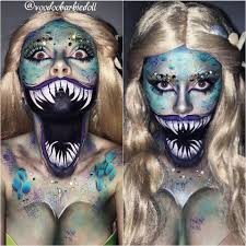 Halloween Makeup Clown Faces by Wicked Siren Ig Voodoobarbiedoll Siren Mermaid Mermaid