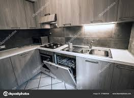 corner kitchen cabinet furniture modern corner kitchen furniture composition 316866004