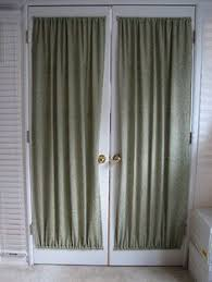 Draperies For French Doors Front Door Small Window Curtain For Privacy Sewing Pinterest