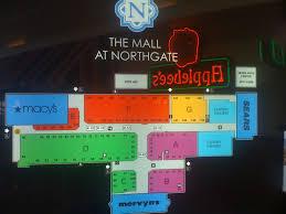 Florida Mall Map by Northgate Mall San Rafael California Labelscar