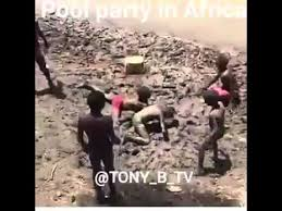Meme Pool - african pool party youtube