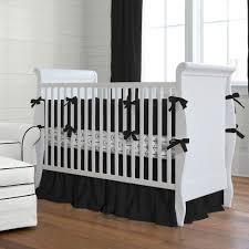 Plain Crib Bedding Solid Black Baby Crib Bedding Collection Carousel Designs