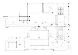 plan de la cuisine plan de la cuisine de ct lu0027ilot avec une partie bar devant la