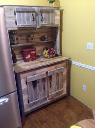 Kitchen Hutch Cabinet Wood Pallet Kitchen Hutch