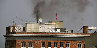russian consulate lights fireplace in a heat wave after orders