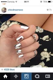 metallic nail foil wraps fancy metallic silver nail foil wraps