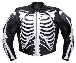 riding jacket for men vanson leathers inc detail1 bone bones mens vanson