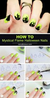 20 step by step halloween nail art design tutorials 2017 best 25