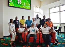 bahamas featured at miami dolphins game with the indianapolis