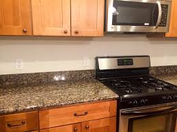 Granite Countertops No Beauteous No Backsplash In Kitchen Home - No backsplash