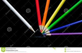 prism colored pencils colored pencil explosion stock image image of concept 27951675