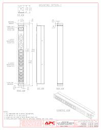 wall mount pdu apc ap9559 basic 0u pdu 16a 200 240vac c20 12 c13 c19
