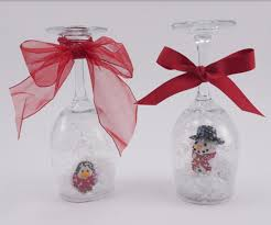 wine glass snow globes wine glass snow globes project ideas blick materials
