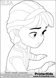 elsa frozen coloring pages disney frozen young elsa