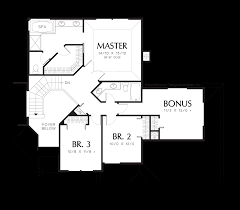 Contemporary Plan by Mascord House Plan 2213dc The Duson