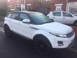 white lexus black roof white automatic range rover evoque black wheels black roof 13