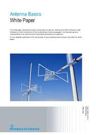 antenna basics from r u0026s