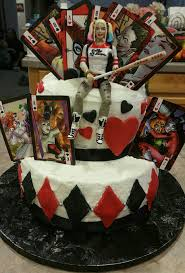 Halloween Birthday Cakes For Adults Harley Quinn Birthday Cake Harleyquinn Birthdaycake Walmart