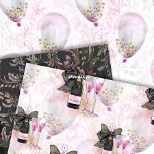 cute halloween background pack halloween party paper pack cute planner watercolor fashion