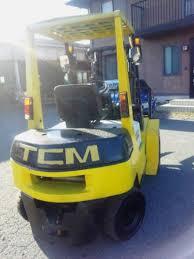 tcm forklift fd25z3 n a used for sale