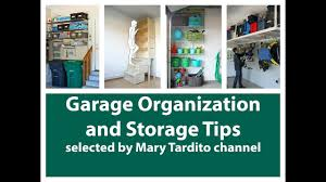 garage organization and storage tips youtube