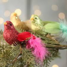 Glitter Bird Christmas Decorations by Glitter Bird Clip Birds U0026 Butterflies Basic Craft Supplies