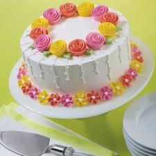 flower cake fanciful flowers cake wilton